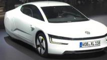 Volkswagen XL1 production version at 2013 Geneva Motor Show