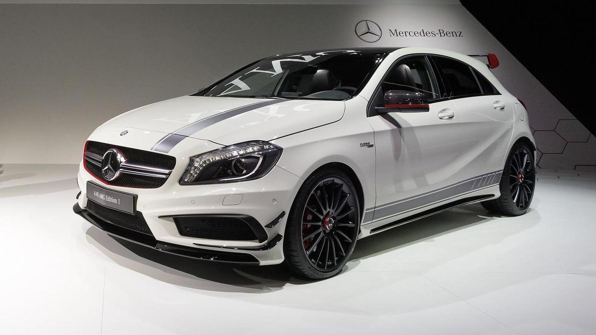 Lewis Hamilton and Nico Rosberg promote Mercedes-Benz A45 AMG [video]