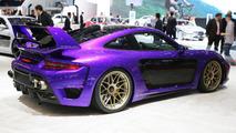 Genève 2017 - Une Avalanche de chevaux pour cette Gemballa Porsche 911 Turbo !