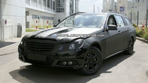 2010 Mercedes E-Class Wagon Front Bumper Spied Uncovered