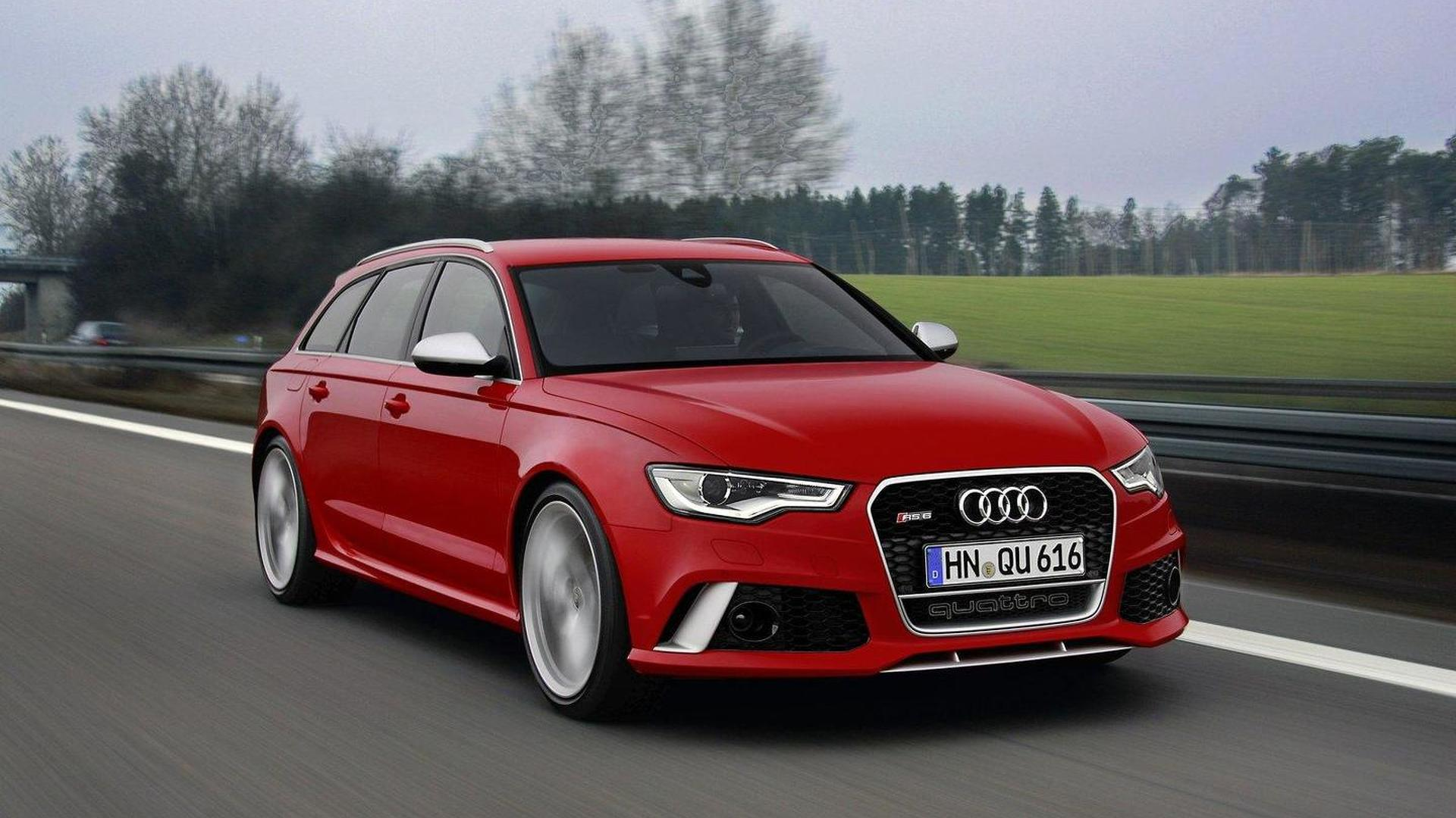 Abt Sportsline tunes the Audi RS6 Avant to 666 HP