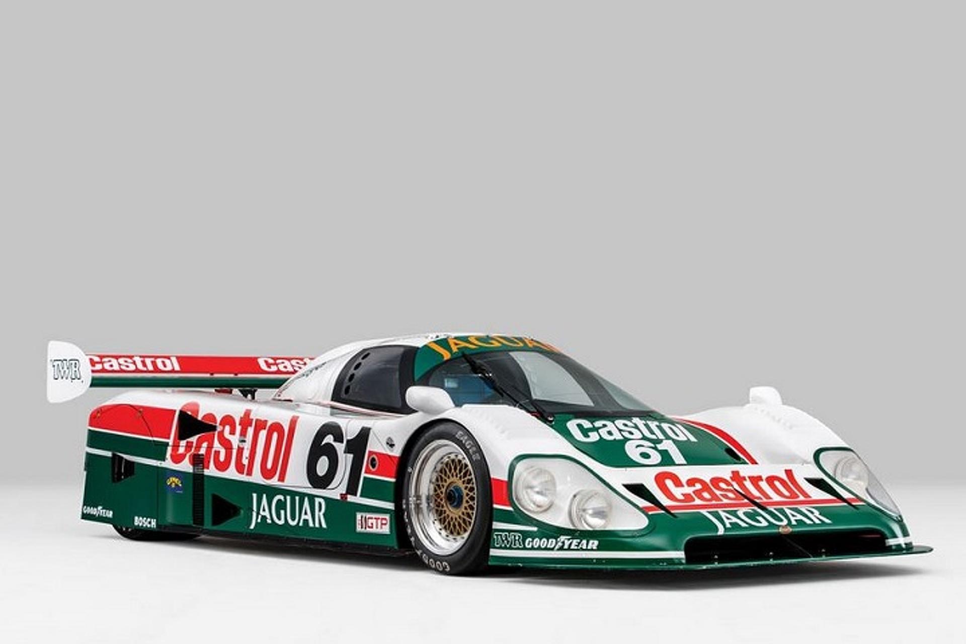 Check Out the 241MPH Jaguar XJR-9 Racecar
