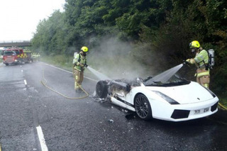 What's More Depressing than a Lamborghini on Fire?