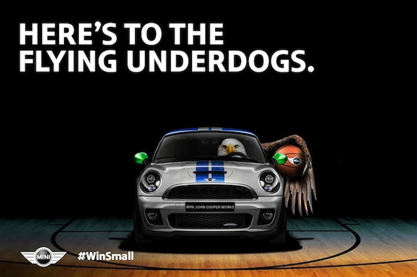 MINI Chimes In on all the March Madness With Some Clever Marketing