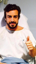 Rumour - Alonso over-medicated after crash
