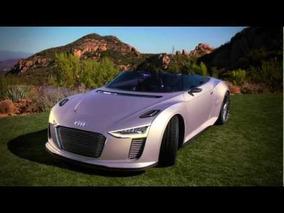 Audi e-tron Spyder Concept driving in Malibu, California