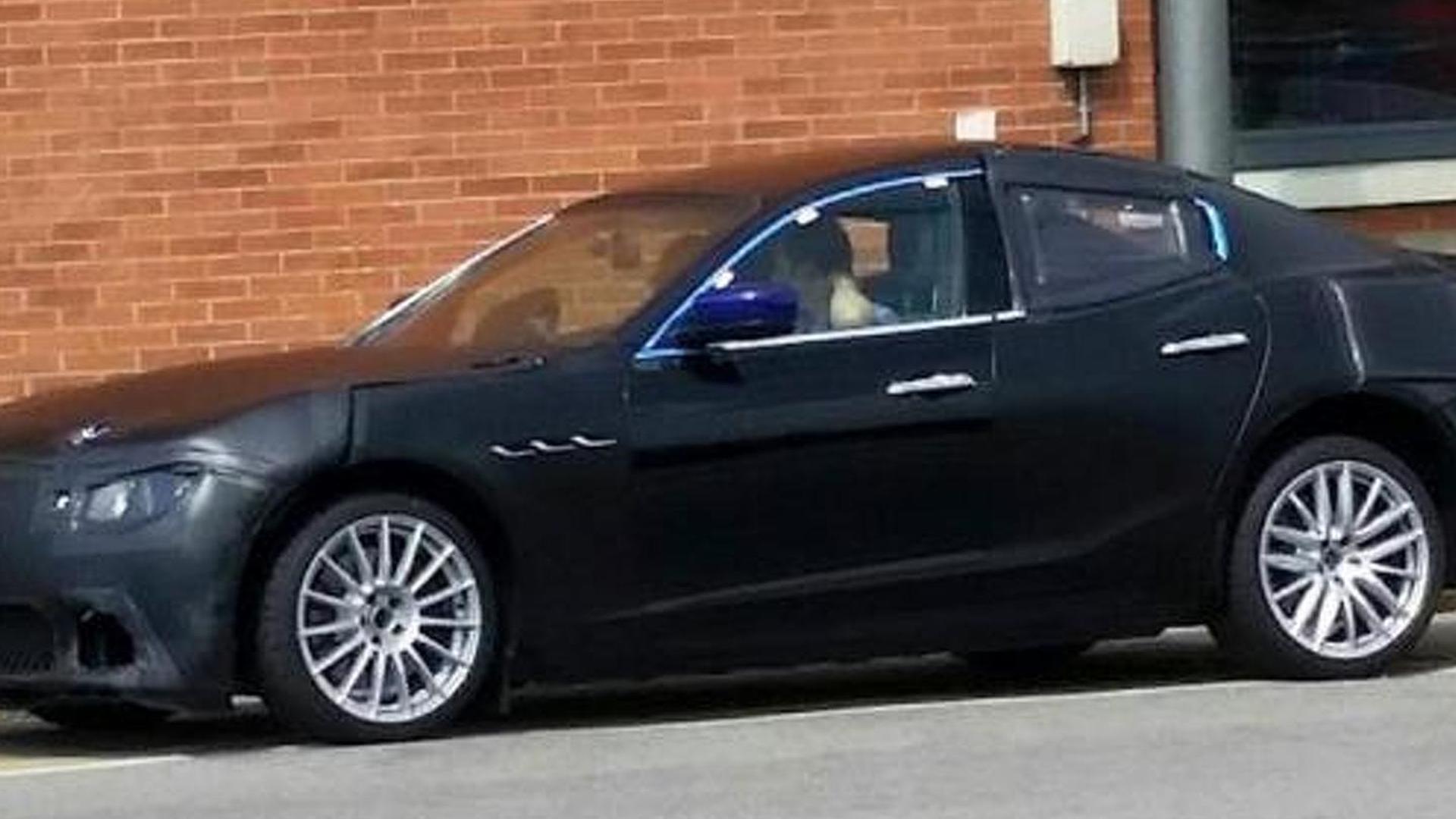 Possible Alfa Romeo Giulia spied prior to June 24 debut