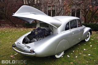 Tatra T87: The Nutty Czechoslovakian Streamliner That Inspired the Beetle