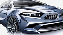 BMW Z10 ED Sketch Surfaces - R8 Fighter on the Horizon