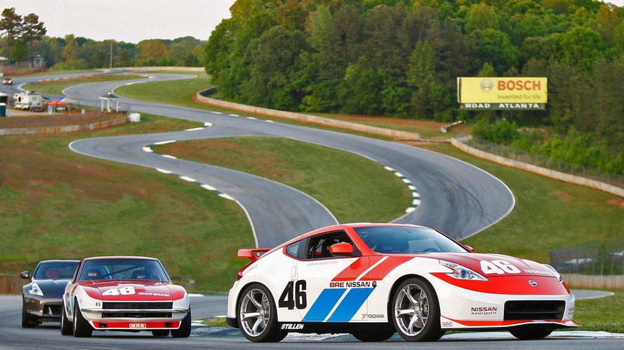 Nissan commemorates first 240Z championship with BRE 370Z