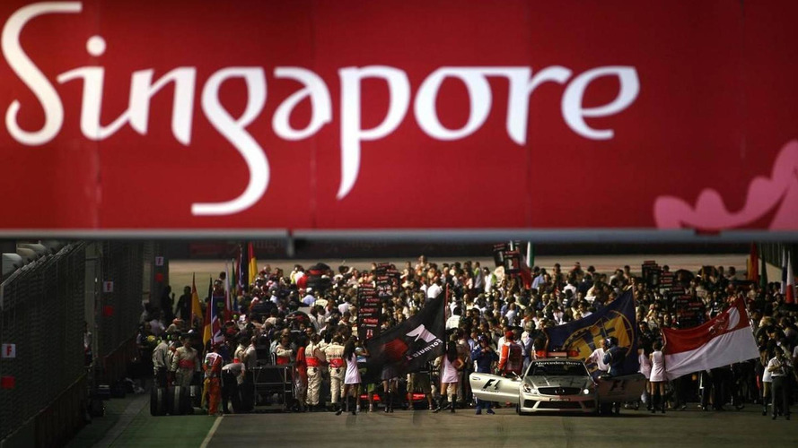 Singapore makes track changes for 2010 race