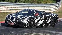 McLaren P11 spied at the Nürburgring