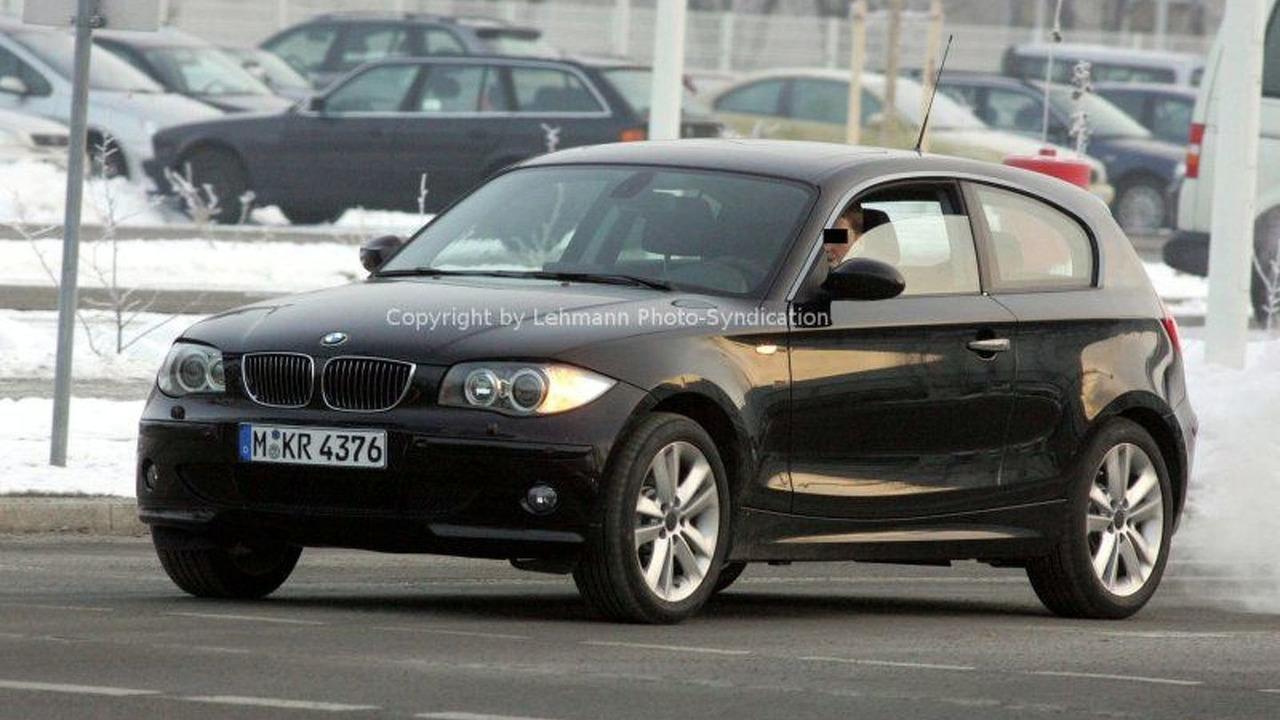 BMW 1 Series 3 door Spy Photo