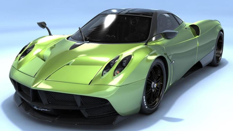 Pagani enthusiast builds his own Huayra online configurator