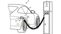 Porsche 911 Hybrid patent photo