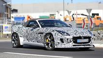 2015 Jaguar F-Type R Roadster spy photo