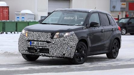 Suzuki Vitara spied with an updated face