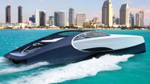 Bugatti Chiron gets a boat buddy in Niniette 66 luxury yacht