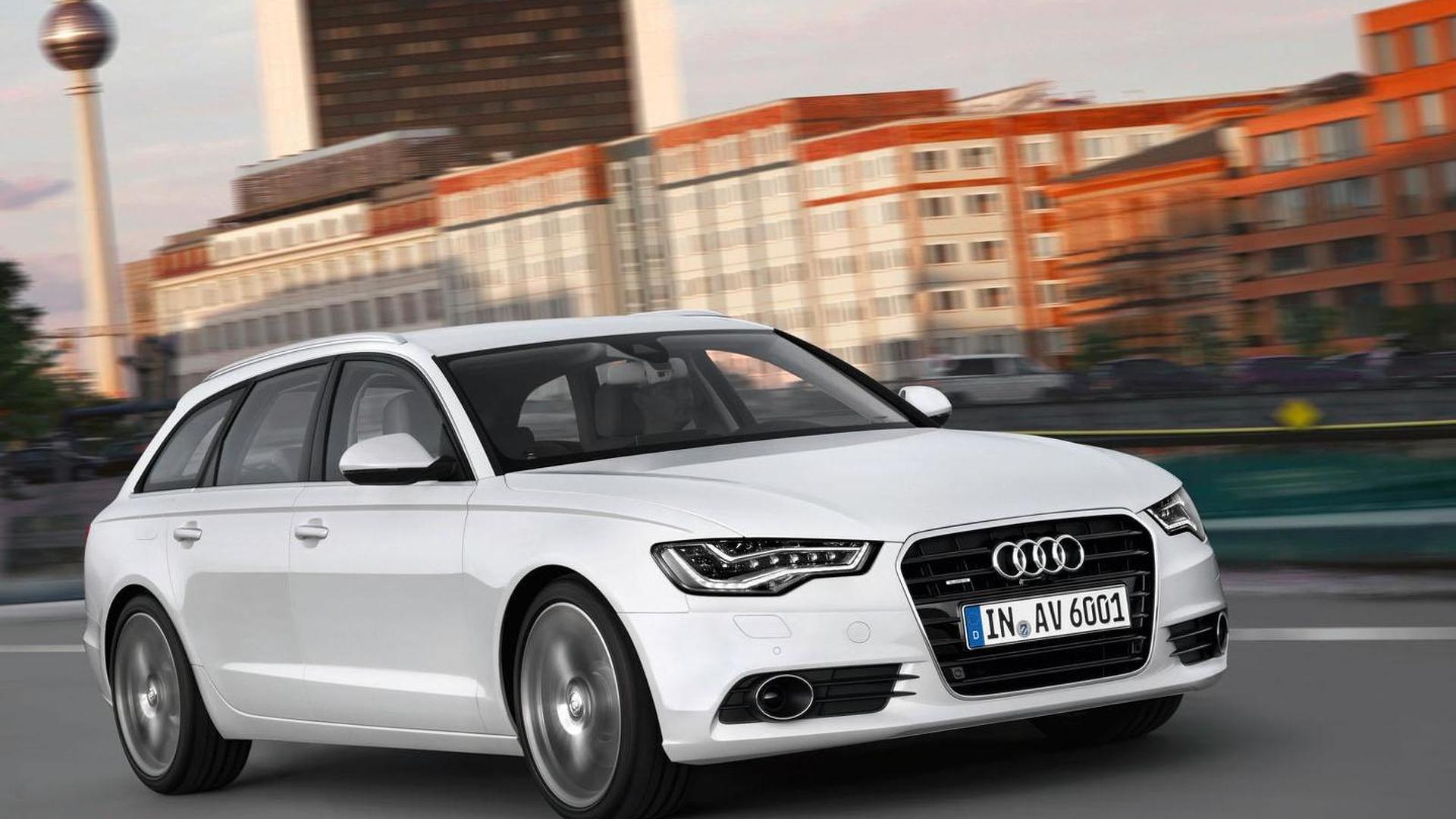 U.S. won't get 2012 Audi A6 Avant