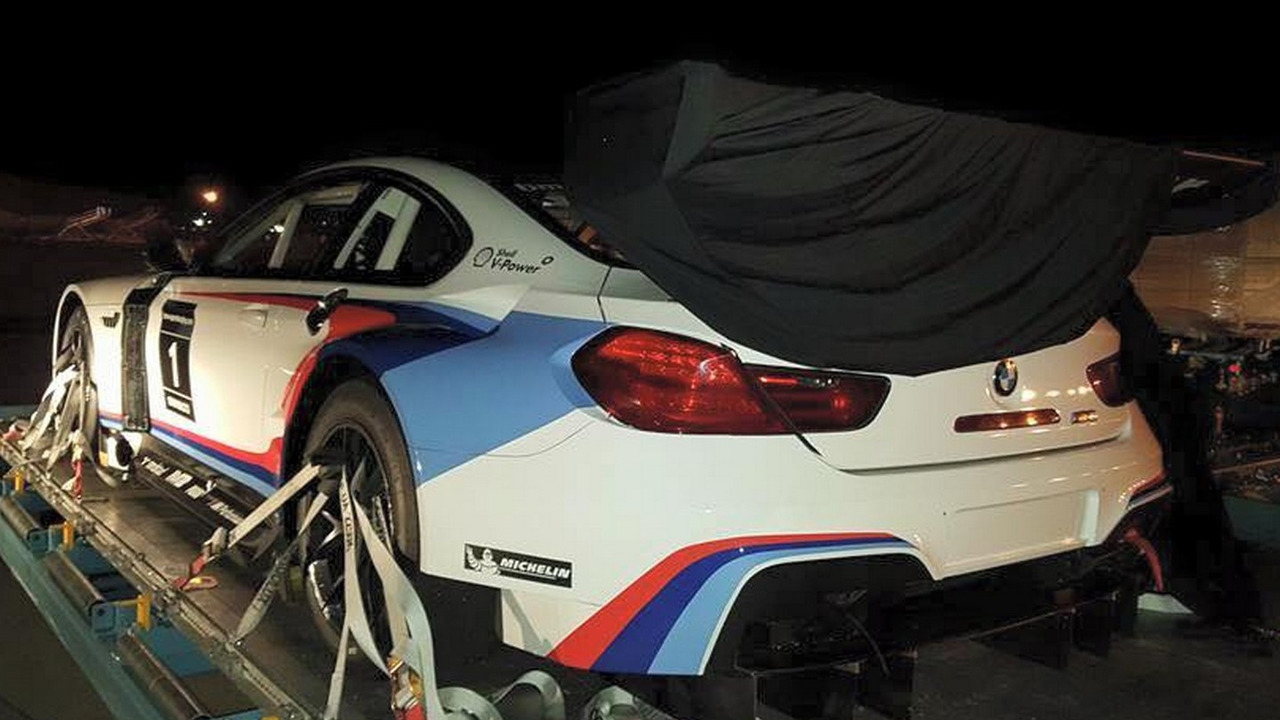 BMW M6 GT3 racecar in Atlanta