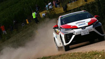 Toyota Mirai during the Rally Germany
