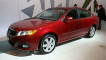 2008 Kia Optima at New York Motor Show