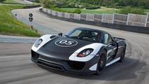 Porsche 918 Spyder prototype 15.5.2012