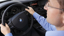 BMW ConnectedDrive message dictation function 10.7.2012