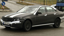 New 2010 Mercedes E-Class Clearest Spy Photos