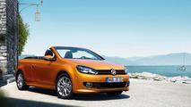 Volkswagen Golf Cabriolet facelifted