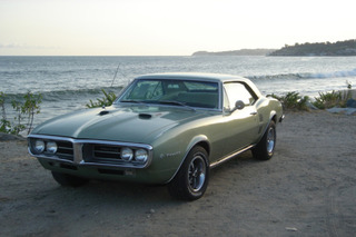 Nate's Enviable Green '67 Firebird: Your Ride