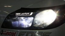 BMW to beat Audi to the race track with laser lights