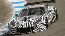Corvette C7.R makes a surprise debut at the Monterey Motorsports Reunion
