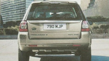 2011 Land Rover Freelander / LR2 facelift leaked brochure images