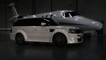 Onyx Concepts Range Rover Sport with Platinum S widebody package