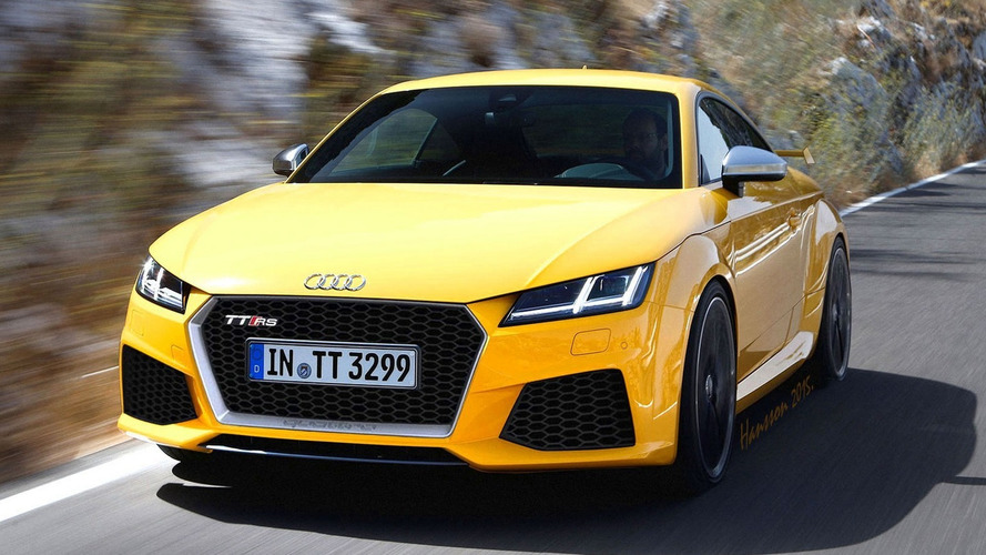 Audi TT RS will probably look like this render