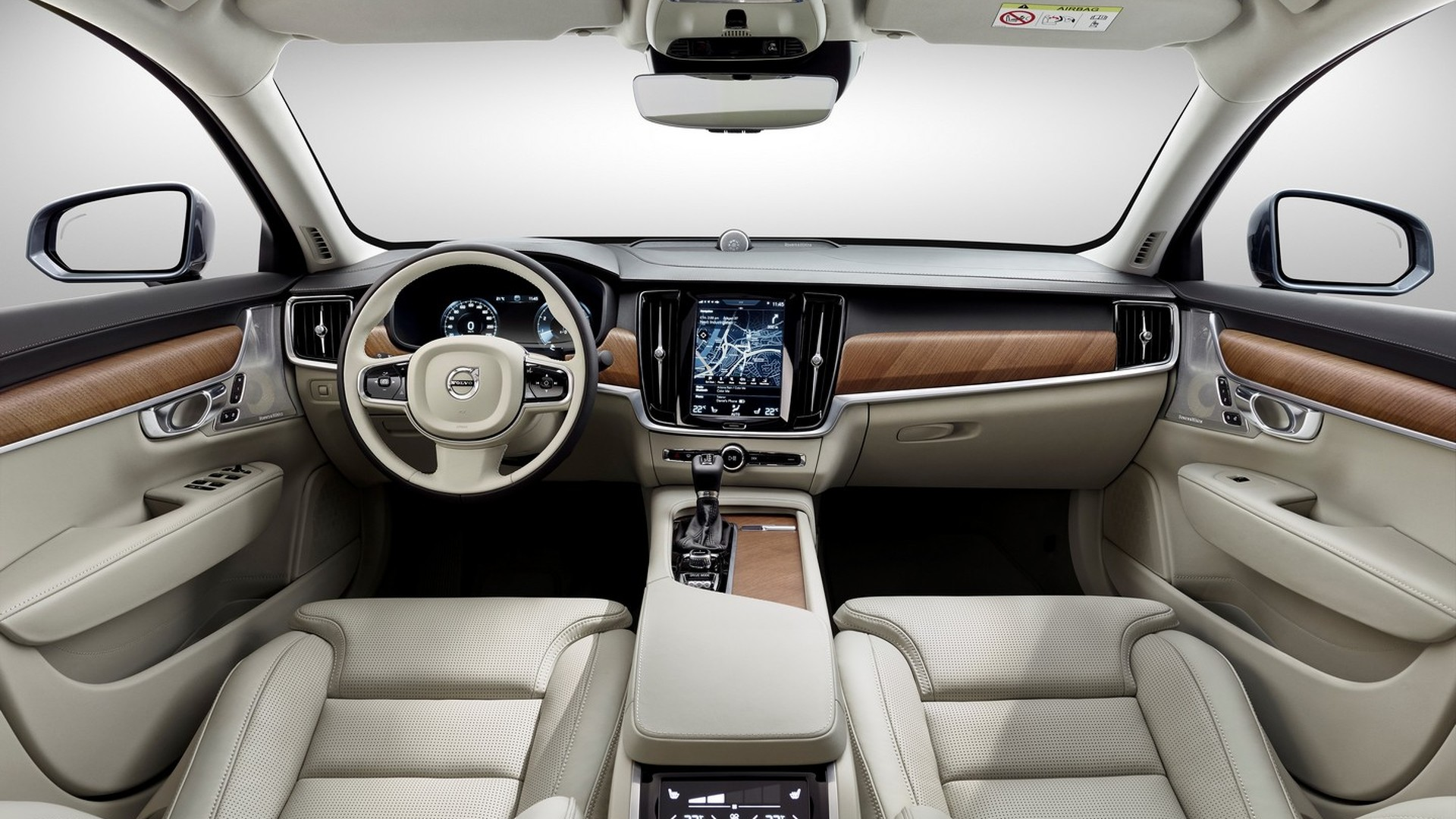 Volvo S90 returns to show elegant cabin in new video