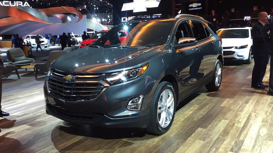 Flagra do Chevrolet Equinox no Brasil