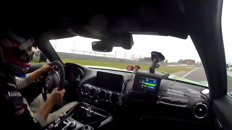 Watch the Mercedes-AMG GT R lap the 'Ring very rapidly