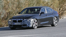 2015 BMW 3-Series facelift spy photo