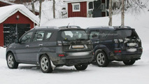 New Peugeot 4007 SUV Spy Photos