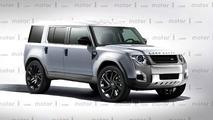 Land Rover Defender - Un rendu original pour la prochaine version