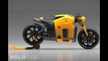 Koenigsegg Motorcycle Concept by Burov Art