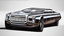 Russian presidential limo concept by Alexander Krasnov 25.2.2013