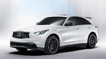 Infiniti previews the FX50 Performance Concept from Sebastian Vettel