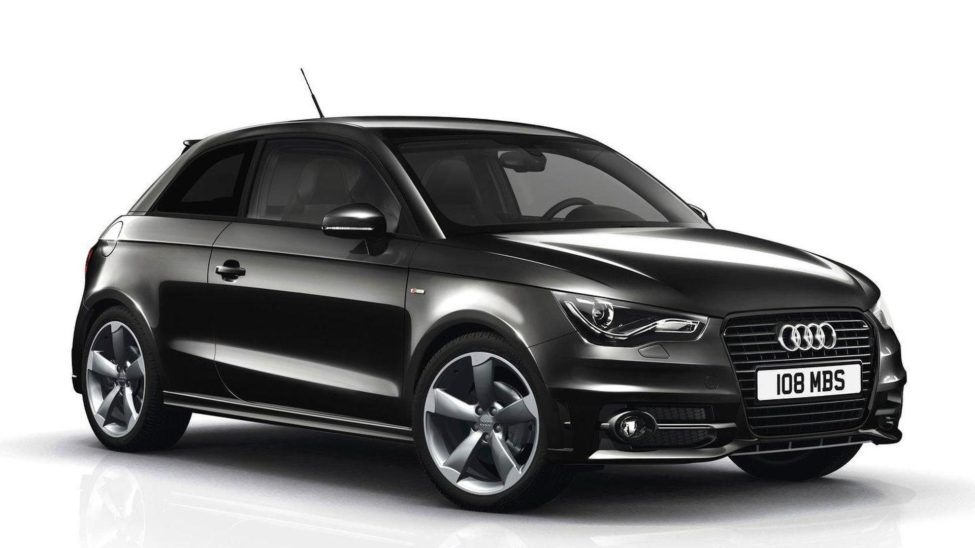 Audi A1 Black and Contrast Editions (U.K.)