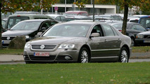 SPY PHOTOS: VW Phaeton Facelift
