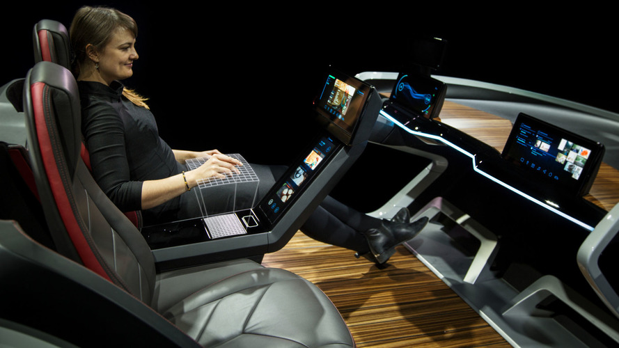 Bosch's CES auto interior of the future is an assistant on wheels