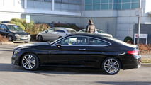 Mercedes caught testing C-Class Coupe with kinetic energy recovery system