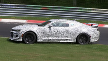 New Chevy Camaro Z/28 crashes at the Nürburgring